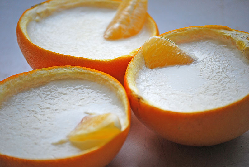 десерт панакота рецепт апельсиновый