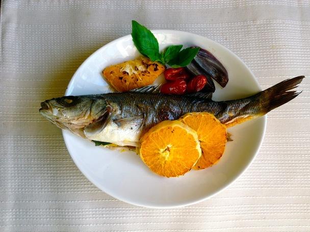 Красная рыба с апельсином в духовке рецепты