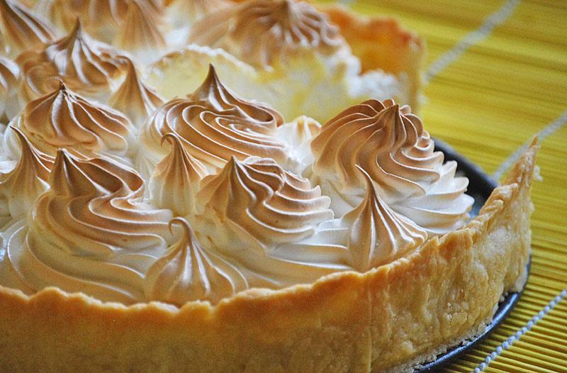 пирог с меренгой рецепт с фото